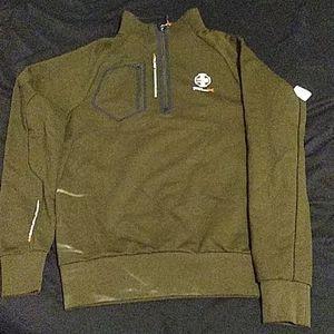 Ralph Lauren Sweater Small Olive Green NEW